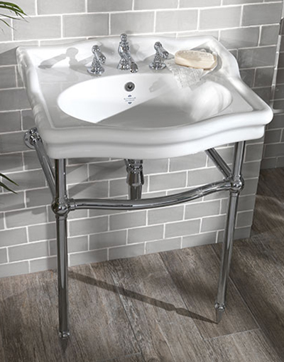 Loxley 650mm Classic Basin on Stand