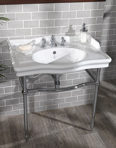 Loxley Classic 860mm Basin on Stand